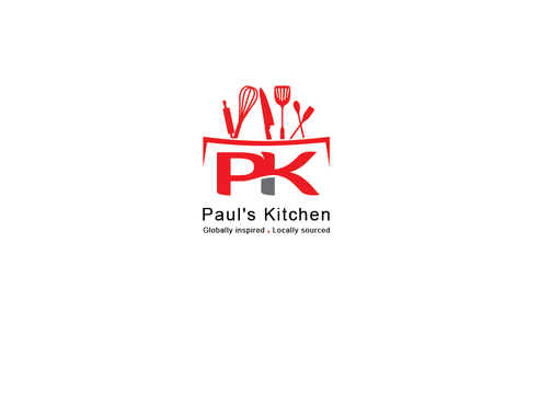 Paul's Kitchen and PK A Logo, Monogram, or Icon  Draft # 7 by Rajeshpk