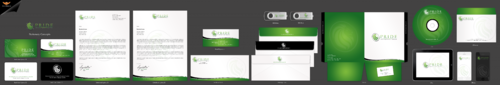 Pride Management Group Business Cards and Stationery Winning Design by einsanimation