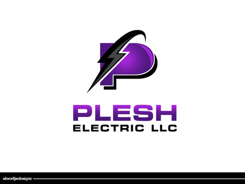 PLESH ELECTRIC LLC A Logo, Monogram, or Icon  Draft # 47 by alocelja
