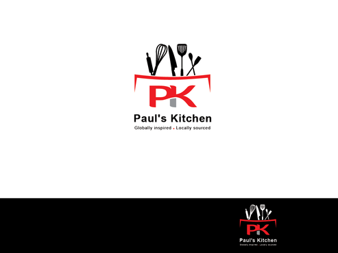 Paul's Kitchen and PK A Logo, Monogram, or Icon  Draft # 10 by Rajeshpk
