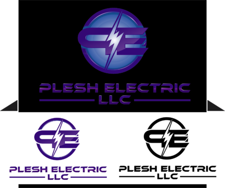 PLESH ELECTRIC LLC A Logo, Monogram, or Icon  Draft # 54 by RPMBdesign