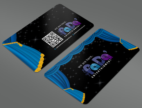 PaDa' entertainment Business Cards and Stationery  Draft # 263 by ArtworksKingdom