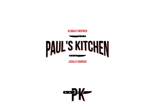 Paul's Kitchen and PK A Logo, Monogram, or Icon  Draft # 23 by JuloMN