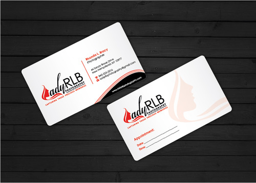 Lady RLB Photography Business Cards and Stationery  Draft # 234 by i3designer