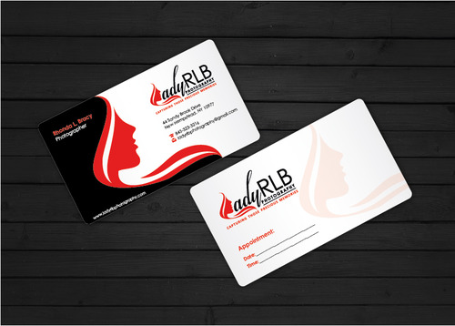 Lady RLB Photography Business Cards and Stationery  Draft # 235 by i3designer