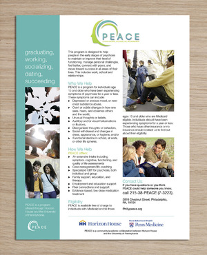 PEACE program services Marketing collateral  Draft # 26 by pattoh