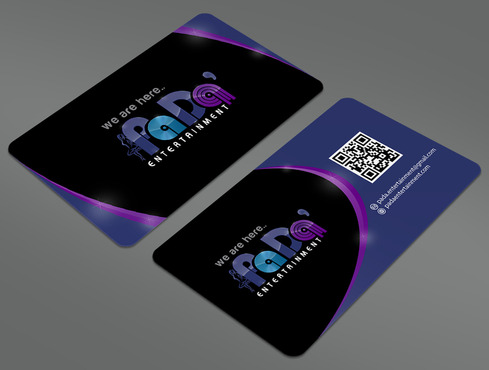 PaDa' entertainment Business Cards and Stationery  Draft # 268 by ArtworksKingdom