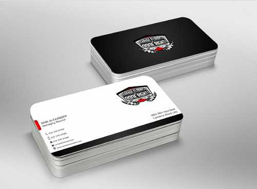 GFDR Biz Cards Business Cards and Stationery  Draft # 370 by Dawson