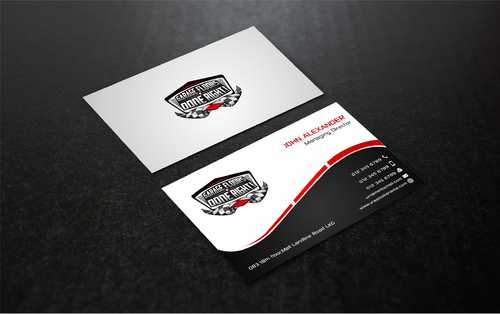 GFDR Biz Cards Business Cards and Stationery  Draft # 378 by Dawson