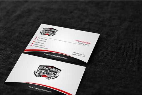 GFDR Biz Cards Business Cards and Stationery  Draft # 380 by Dawson