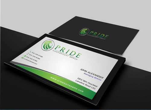 Pride Management Group Business Cards and Stationery  Draft # 278 by Dawson