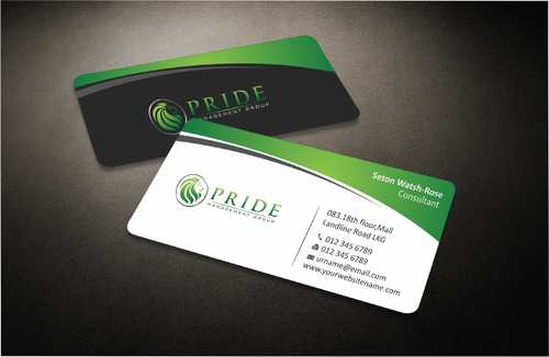 Pride Management Group Business Cards and Stationery  Draft # 282 by Dawson