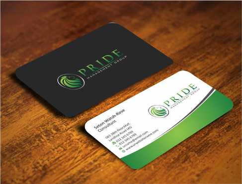 Pride Management Group Business Cards and Stationery  Draft # 281 by Dawson