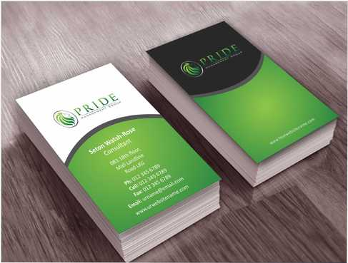 Pride Management Group Business Cards and Stationery  Draft # 283 by Dawson