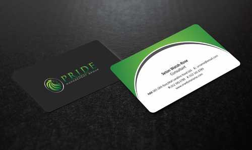 Pride Management Group Business Cards and Stationery  Draft # 286 by Dawson