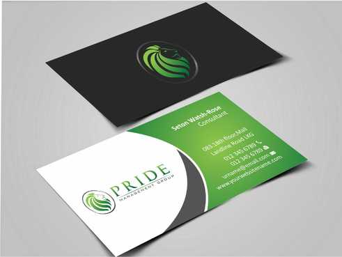 Pride Management Group Business Cards and Stationery  Draft # 289 by Dawson