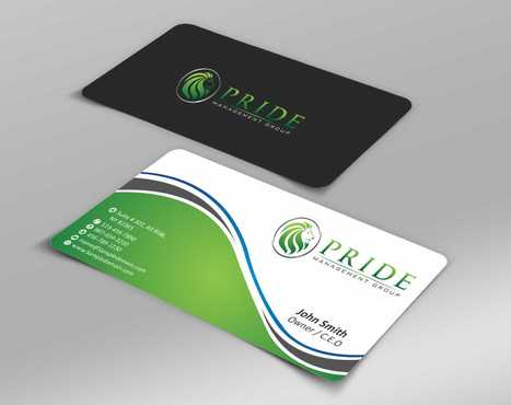 Pride Management Group Business Cards and Stationery  Draft # 292 by Dawson