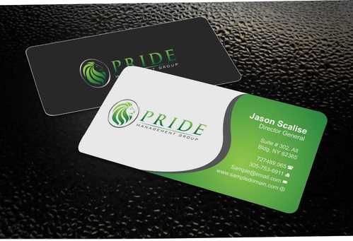Pride Management Group Business Cards and Stationery  Draft # 294 by Dawson