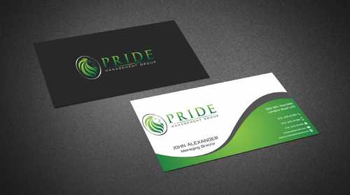 Pride Management Group Business Cards and Stationery  Draft # 295 by Dawson