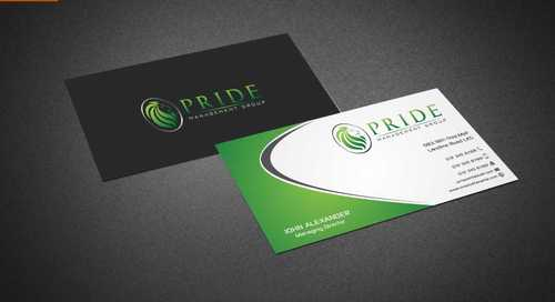 Pride Management Group Business Cards and Stationery  Draft # 296 by Dawson