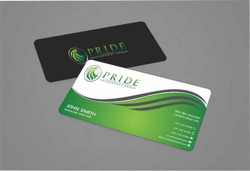 Pride Management Group Business Cards and Stationery  Draft # 298 by Dawson
