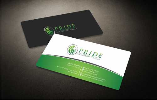 Pride Management Group Business Cards and Stationery  Draft # 301 by Dawson
