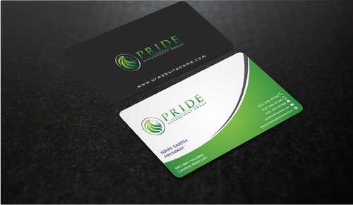 Pride Management Group Business Cards and Stationery  Draft # 302 by Dawson