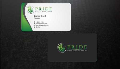Pride Management Group Business Cards and Stationery  Draft # 306 by Dawson