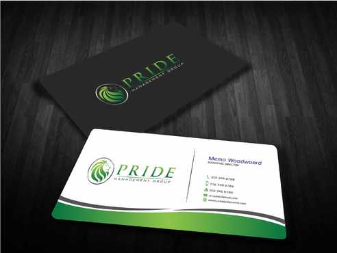 Pride Management Group Business Cards and Stationery  Draft # 307 by Dawson