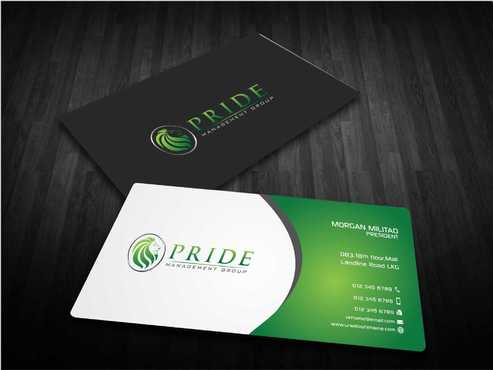 Pride Management Group Business Cards and Stationery  Draft # 310 by Dawson
