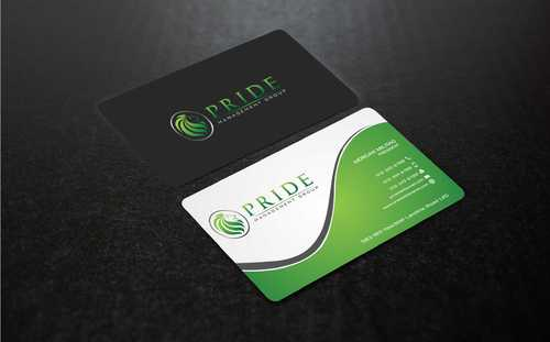 Pride Management Group Business Cards and Stationery  Draft # 311 by Dawson