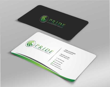 Pride Management Group Business Cards and Stationery  Draft # 315 by Dawson