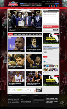 RSS Based Sports Site