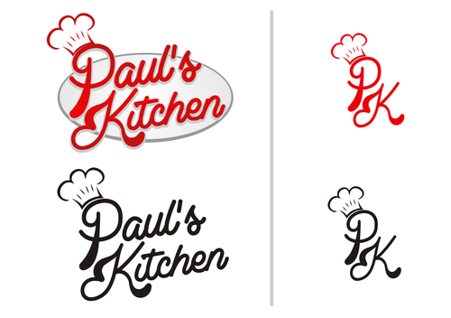 Paul's Kitchen and PK A Logo, Monogram, or Icon  Draft # 101 by meyaci