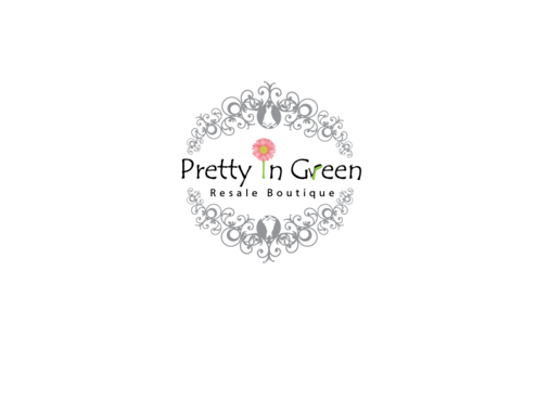 Pretty In Green Resale Boutique Marketing collateral  Draft # 8 by Rajeshpk