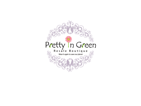 Pretty In Green Resale Boutique Marketing collateral  Draft # 9 by Rajeshpk