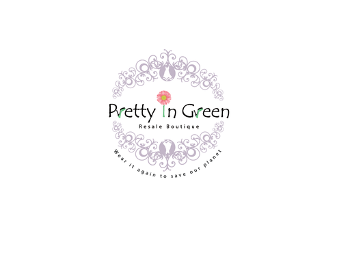 Pretty In Green Resale Boutique Marketing collateral  Draft # 10 by Rajeshpk