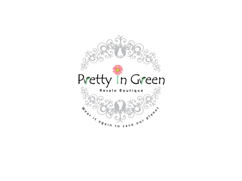 Pretty In Green Resale Boutique Marketing collateral  Draft # 11 by Rajeshpk