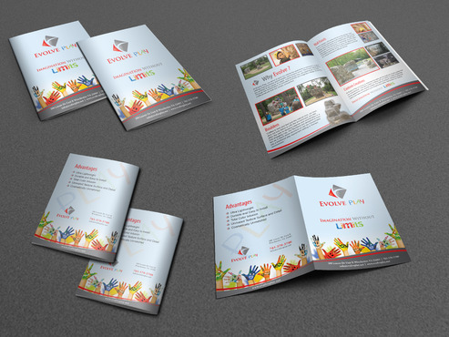 Evolve Play Marketing collateral Winning Design by Achiver