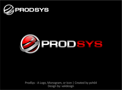 ProdSys A Logo, Monogram, or Icon  Draft # 35 by validesign