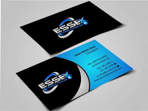 Essex Consulting Business Cards and Stationery  Draft # 258 by Dawson
