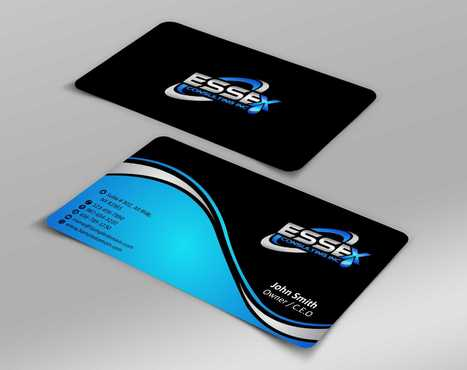 Essex Consulting Business Cards and Stationery  Draft # 261 by Dawson