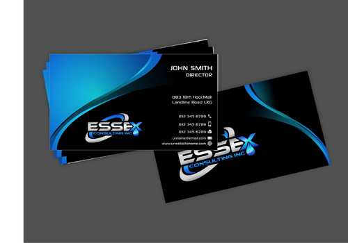 Essex Consulting Business Cards and Stationery  Draft # 269 by Dawson