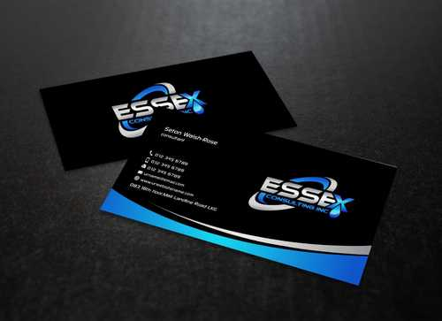 Essex Consulting Business Cards and Stationery  Draft # 271 by Dawson