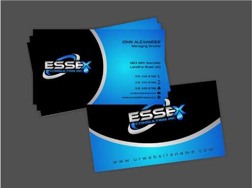 Essex Consulting Business Cards and Stationery  Draft # 276 by Dawson