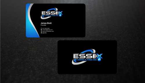 Essex Consulting Business Cards and Stationery  Draft # 278 by Dawson