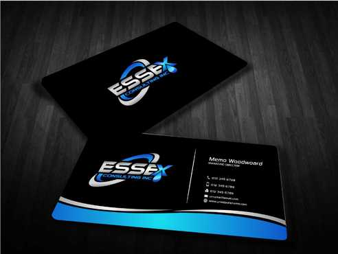Essex Consulting Business Cards and Stationery  Draft # 279 by Dawson