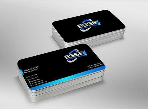 Essex Consulting Business Cards and Stationery  Draft # 284 by Dawson