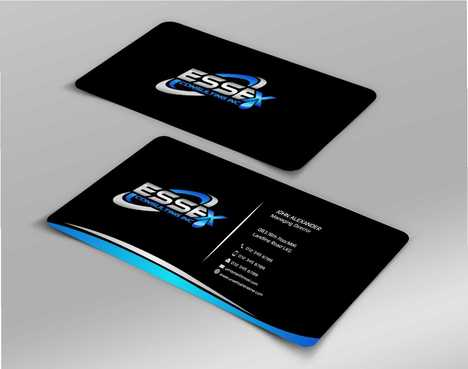 Essex Consulting Business Cards and Stationery  Draft # 288 by Dawson