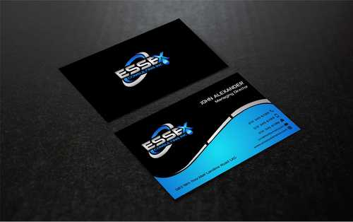 Essex Consulting Business Cards and Stationery  Draft # 291 by Dawson